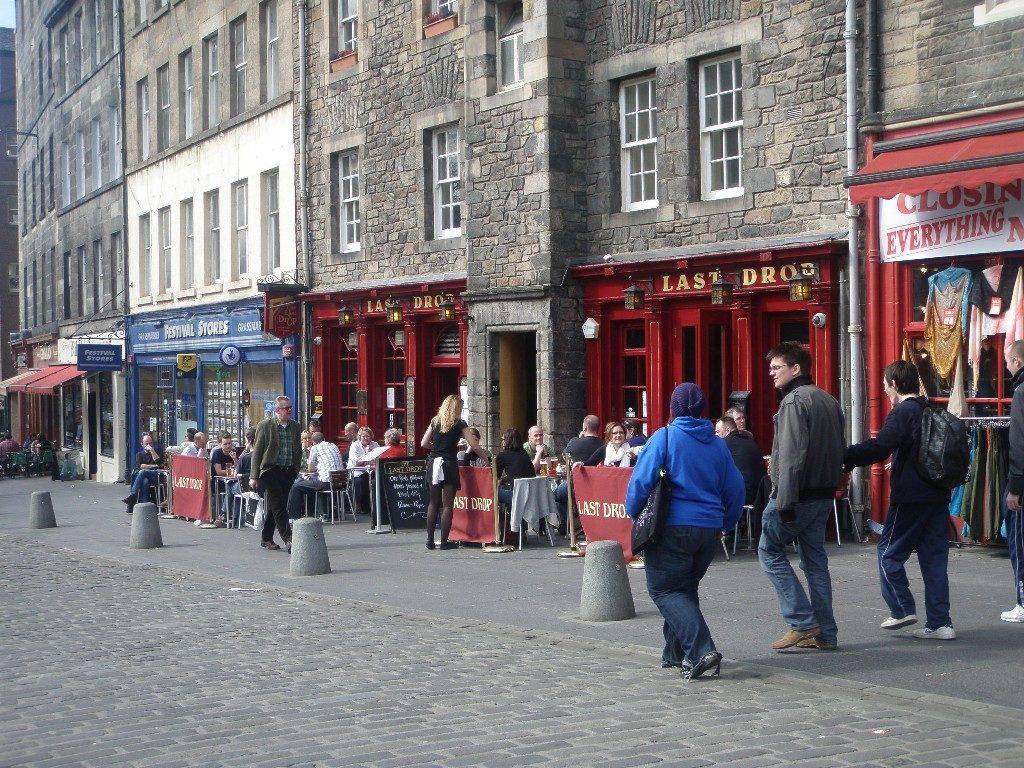 Σκωτία - Εδιμβούργο last drop για τους κατάδικους