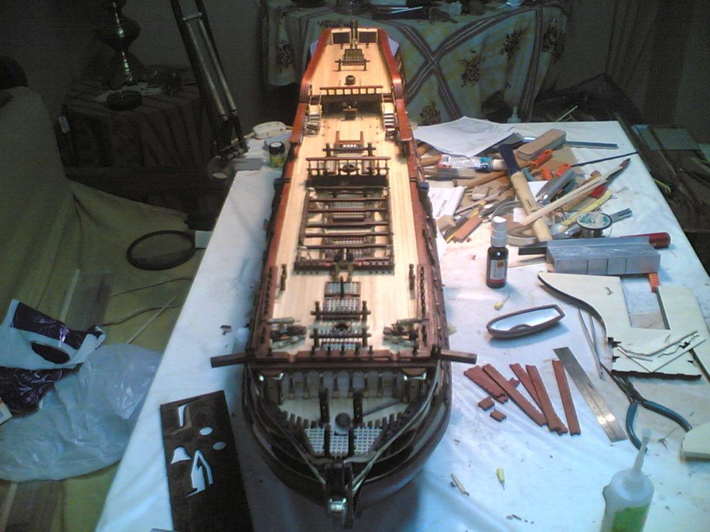 Μινιατούρα HMS Victory Ναυαρχίδα Νέλσωνα