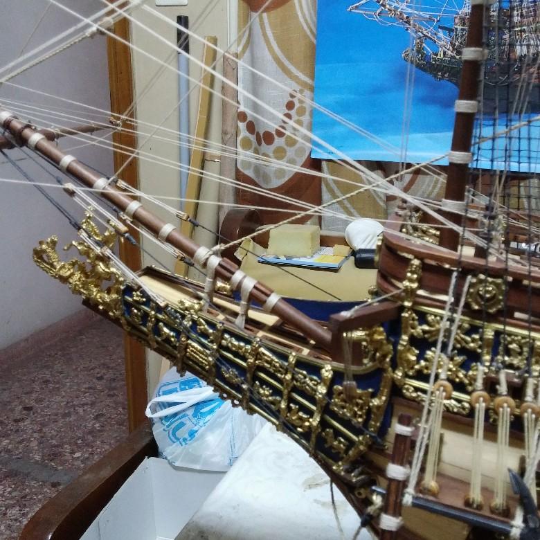 μινιατούρα Sovereign of the Seas-λεπτομέρεια