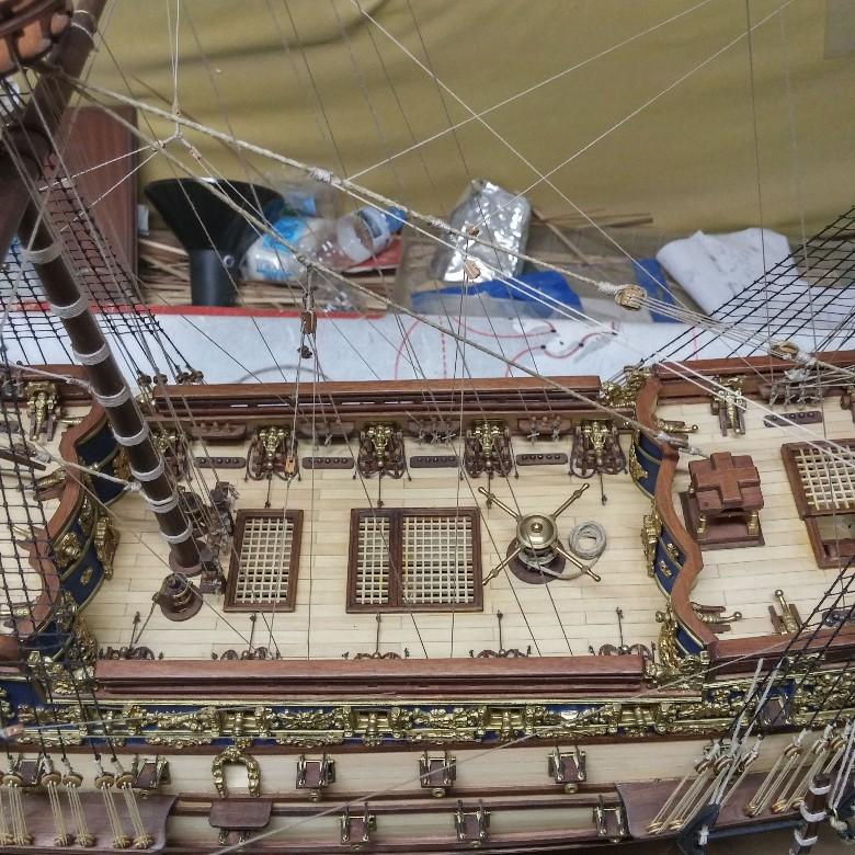 μινιατούρα Sovereign of the Seas-κατάστρωμα