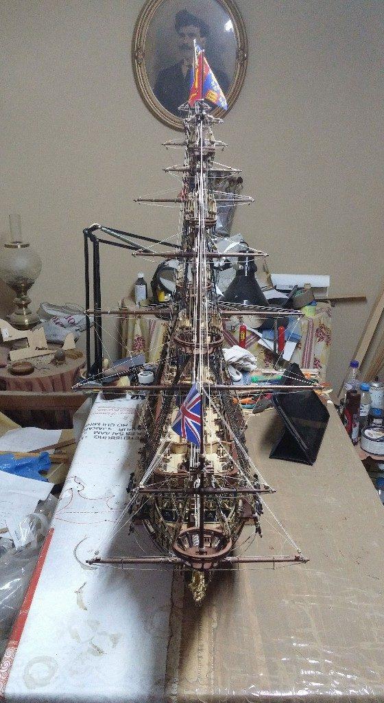 μινιατούρα Sovereign of the Seas-τελειωμένο